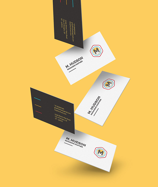100个极品名牌设计模版展示模型PSD下载free-falling-business-cards-mockup-graphicsfuel