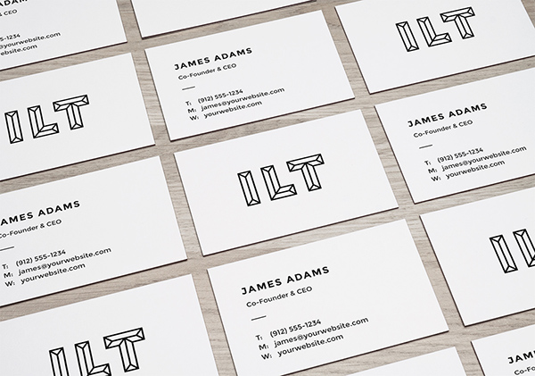 100个极品名牌设计模版展示模型PSD下载perspective-business-cards-mockup-graphicburger